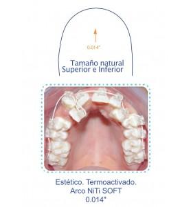 Arco ortodoncia NiTi 0,014...