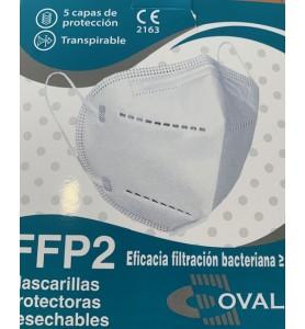 MASCARILLA FFP2 BLANCA...