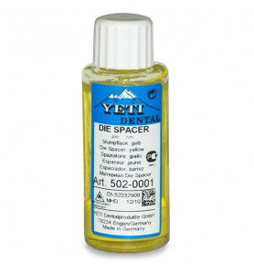 DIE SPACER AMARILLO 20 ML....