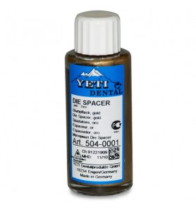 DIE SPACER GOLD 1 X 20 ML....
